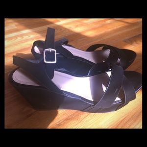 Black sandals by Bamboo